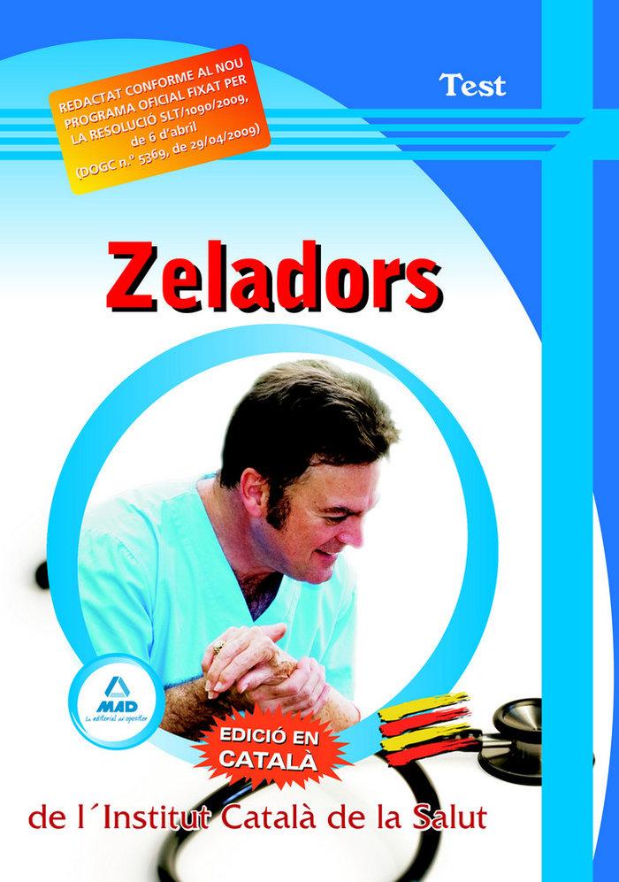 Zeladors de l'institut catala de la salut. test