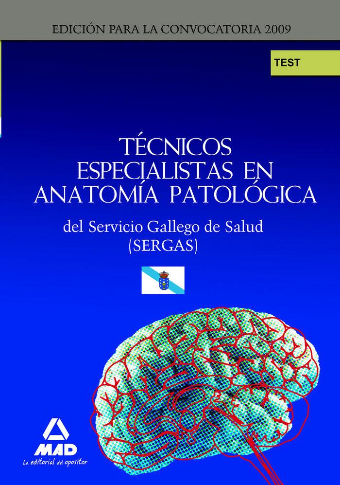 Tecnicos especialistas de anatomia patologica, servicio gall