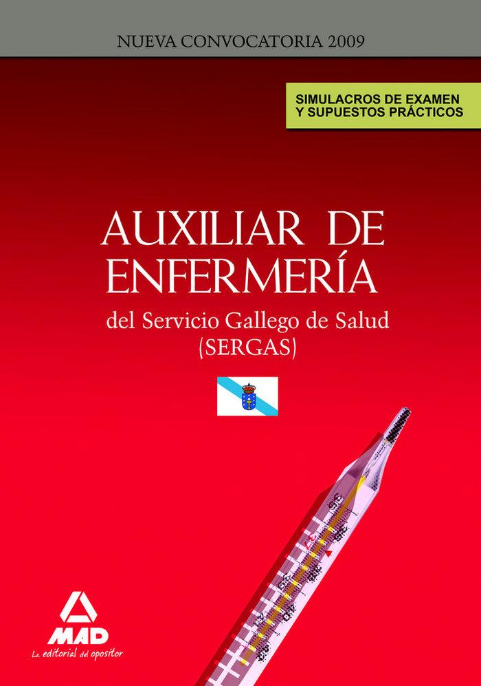 Auxiliares de enfermeria, servicio gallego de salud (sergas)