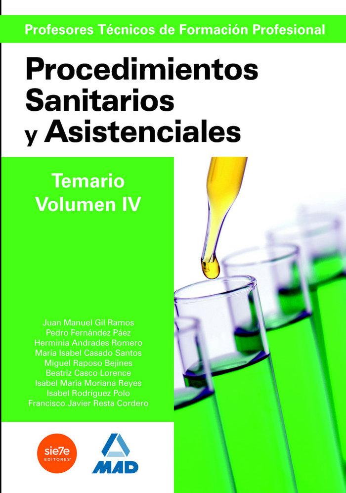 Cuerpo profesores tecnicos fp vol iv procedimientos sanitari
