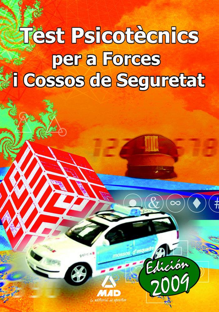 Forces i cossos de seguretat. test psicotecnics