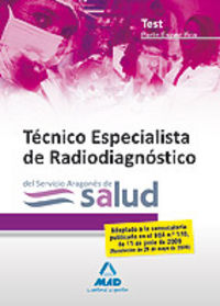 Tecnicos especialistas de radiodiagnostico, servicio aragone