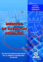 Medicos de atencion primaria de instituciones sanitarias de