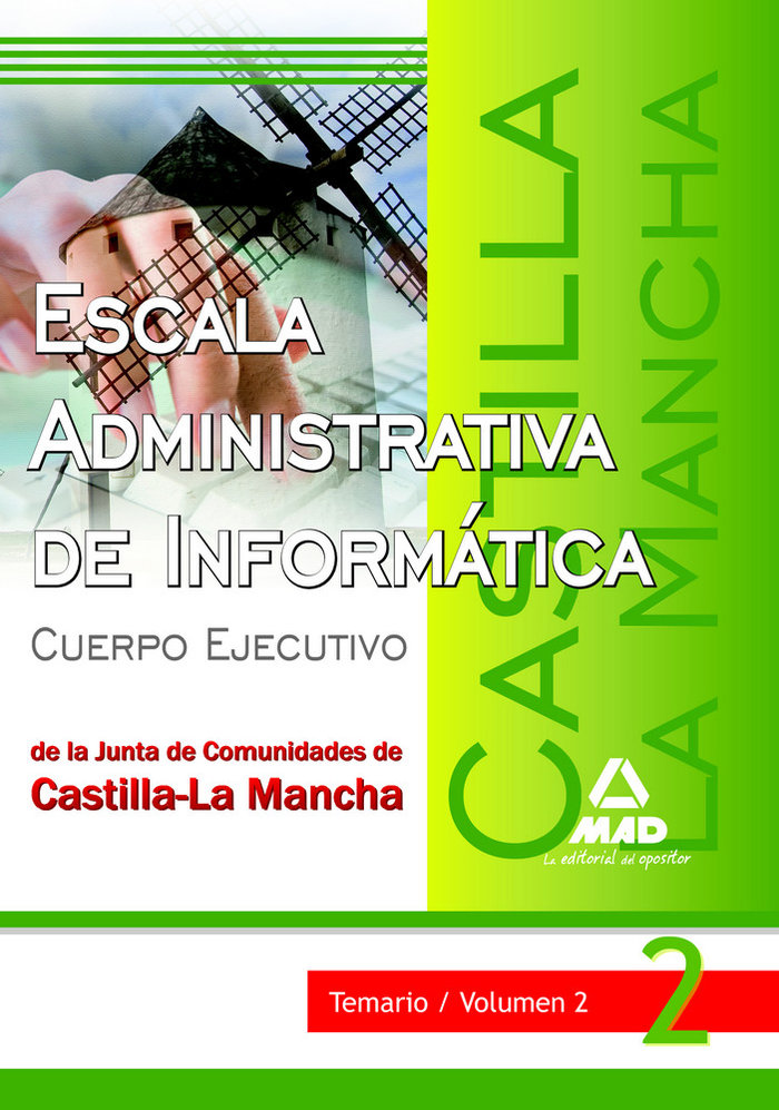 Escala administrativa de informatica de la junta de comunida