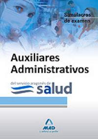 Auxiliares administrativos, servicio aragones de salud. simu