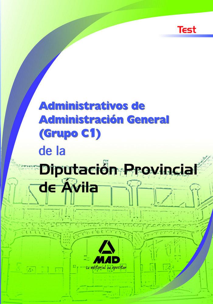 Administrativos de administracion general, grupo c1, diputac