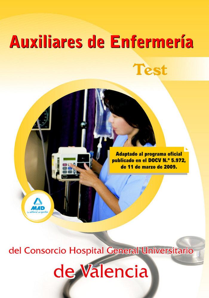 Auxiliares de enfermeria del consorcio hospital general univ