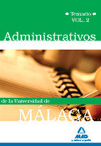 Administrativos universidad malaga temario volumen 2