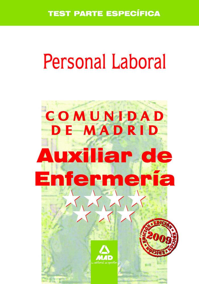 Auxiliares de enfermeria, grupo iv, personal laboral, comuni