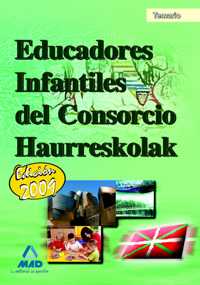 Educadores infantiles, consorcio haurreskolak. temario
