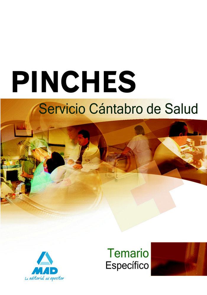 Pinches, servicio cantabro de salud. temario especifico
