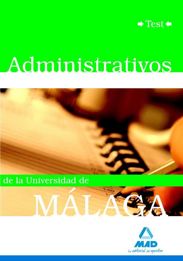 Administrativos universidad malaga test