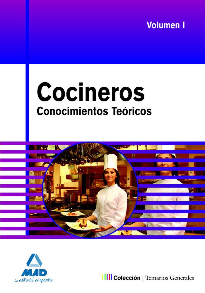 Cocineros. conocimientos teoricos temario gen. i 2009