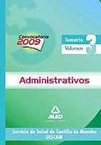 Administrativos del servicio de salud de castilla-la mancha