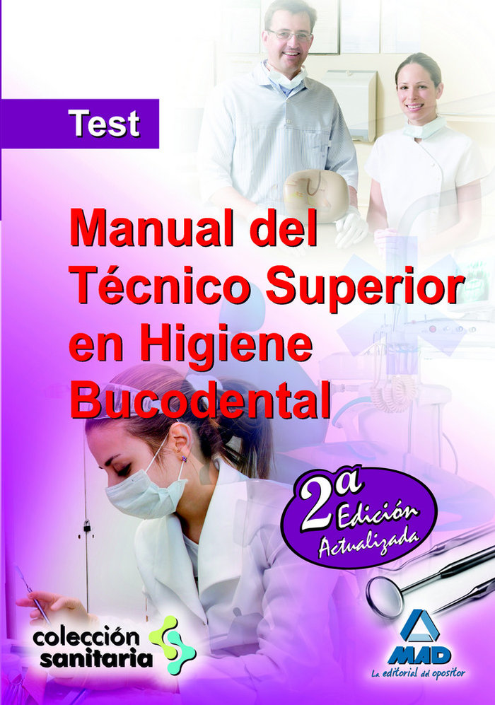 Manual del tecnico superior en higiene bucodental test
