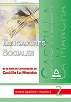Educadores sociales de la junta de comunidades de castilla-l