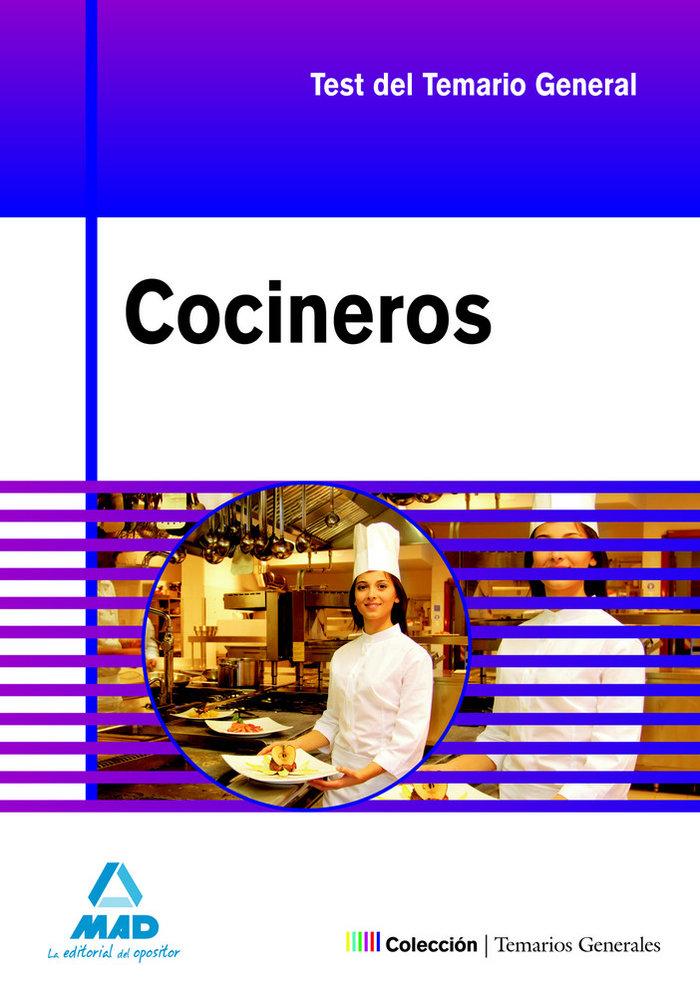 Cocineros test/casos pract.temario general oposiciones