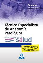 Tecnicos especialistas de anatomia patologica del servicio a