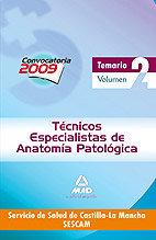 Tecnicos especi. anatomia vol. ii castilla macnha