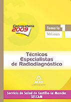 Tecnicos especialistas de radiodiagnostico del servicio de s