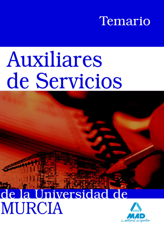Auxiliares de servicios universidad de murcia. temario