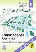 Trabajadores sociales de la junta de andalucia. cuerpo de te