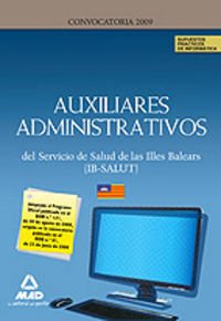 Auxiliares administrativos, servicio de salud de las illes b