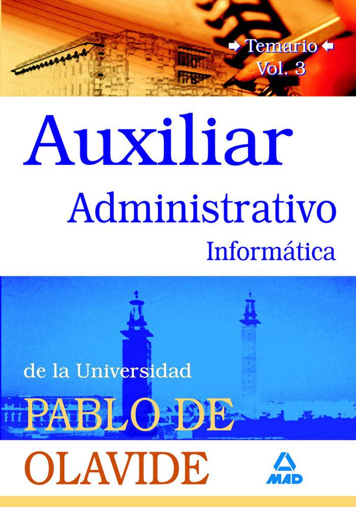 Auxiliares administrativos universidad pablo de olavide iii