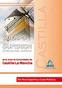 Cuerpo superior, especialidad juridica, junta de comunidades