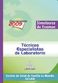 Tecnicos especialistas de laboratorio, servicio de salud de