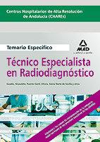 Tecnicos especialistas radiodiagnostico temario ne