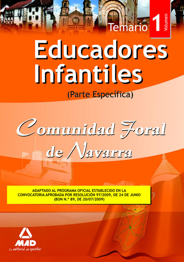 Educadores infantiles com.foral navarra i temar.especifico