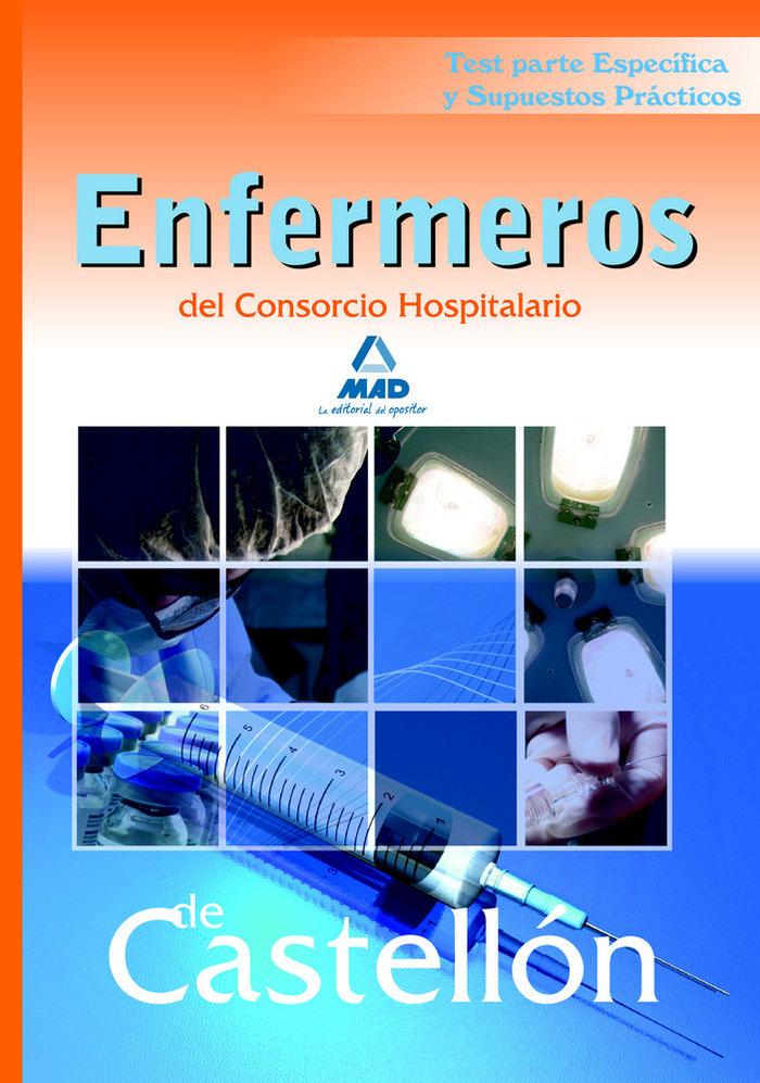 Enfermeros, consorcio hospitalario de castellon. test parte