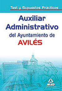 Auxiliares administrativos, ayuntamiento de aviles. test y s