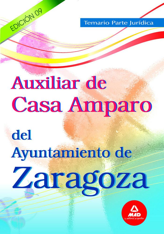 Auxiliar de casa amparo ayuntamiento de zaragoza. temario p