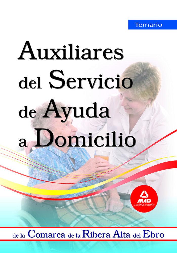 Auxiliares del servicio de ayuda a domicilio, comarca de la