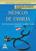 Medicos de familia del servicio de salud de castilla y leon