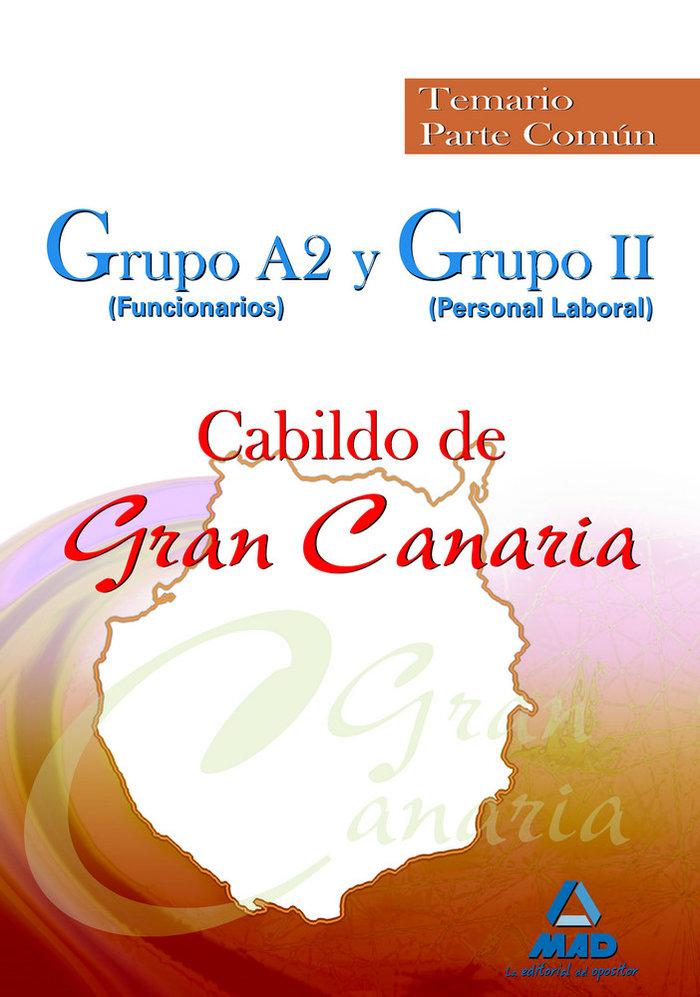 Grupo a2 (funcionarios) y grupo ii (personal laboral), cabil