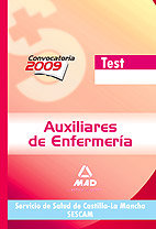 Auxiliar enfermeria catilla test