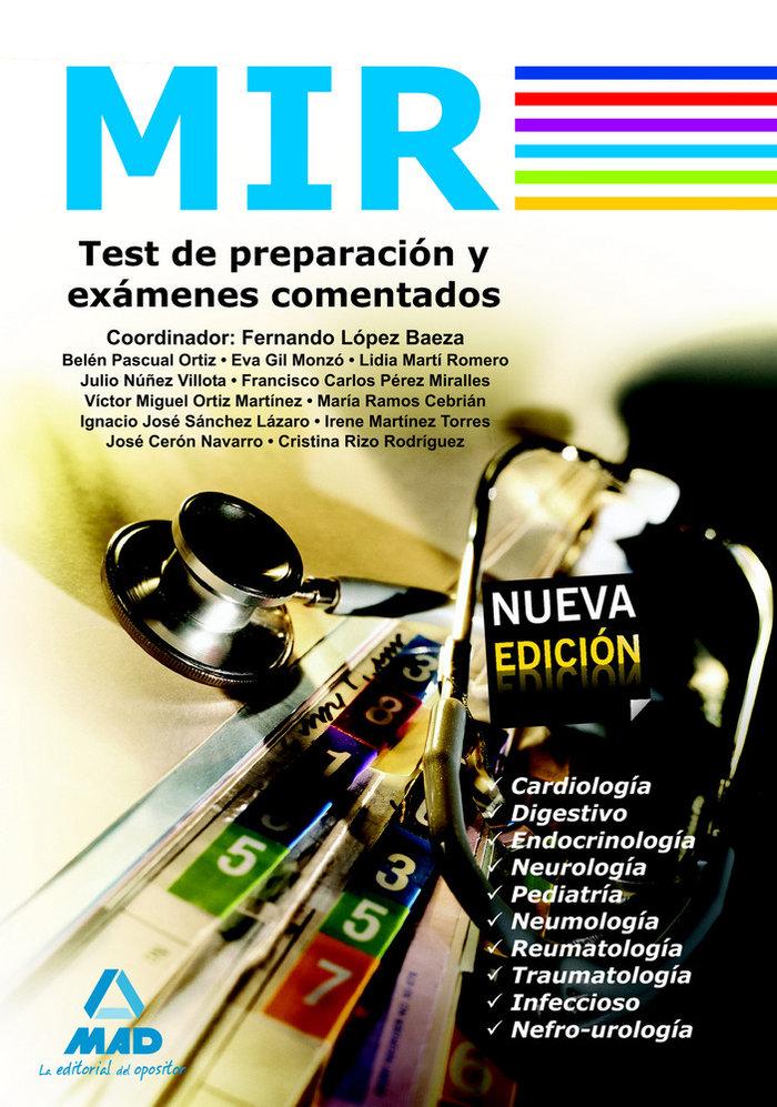 Mir test de prepacion y examenes comentados