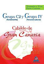 Grupo c2 (funcionarios) y grupo iv (personal laboral) del ca