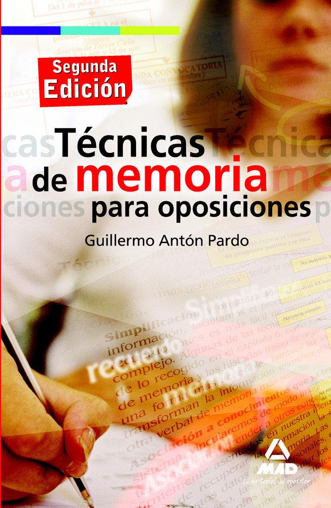 Tecnicas memoria para oposiciones