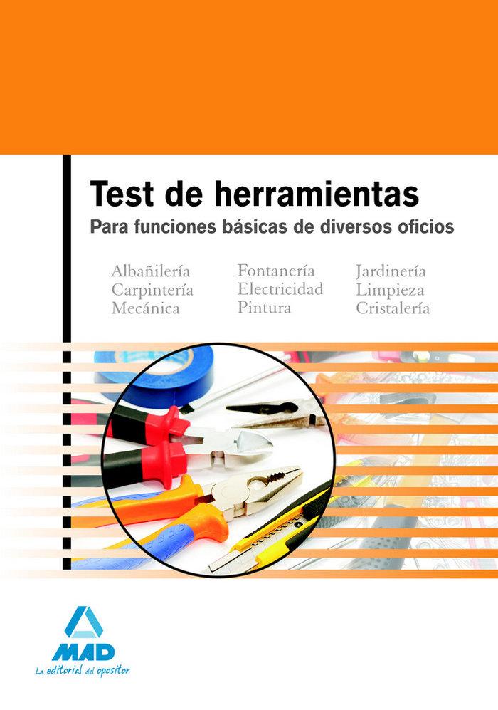 Test herramientas para funciones basicas de diversos oficios