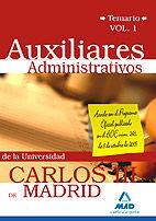 Auxiliar administrativo de la universidad carlos iii de madr