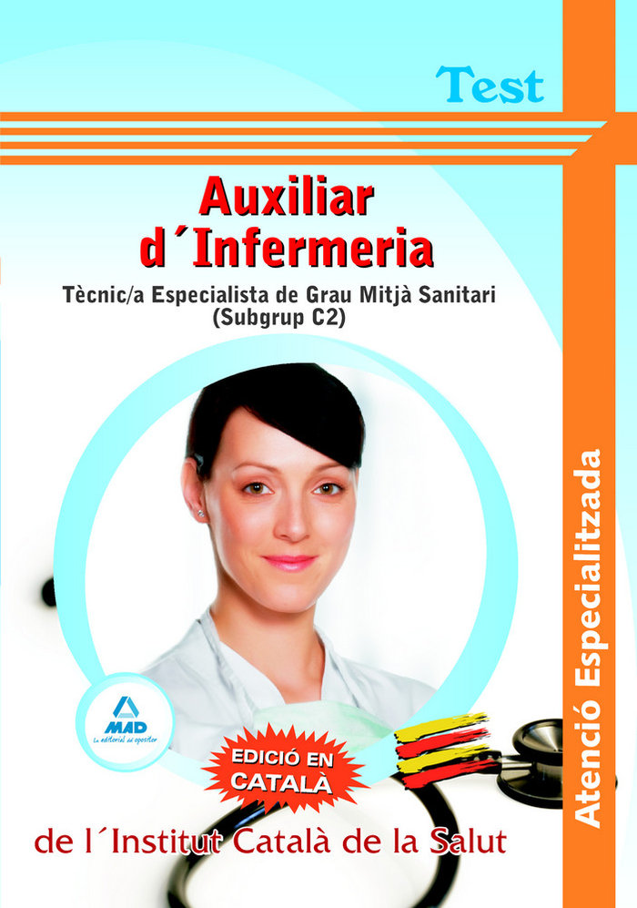 Auxiliars d'infermeria atencio especialitzada, tecnic/a espe