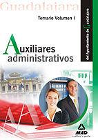 Auxiliares administrativos del ayuntamiento de guadalajara.