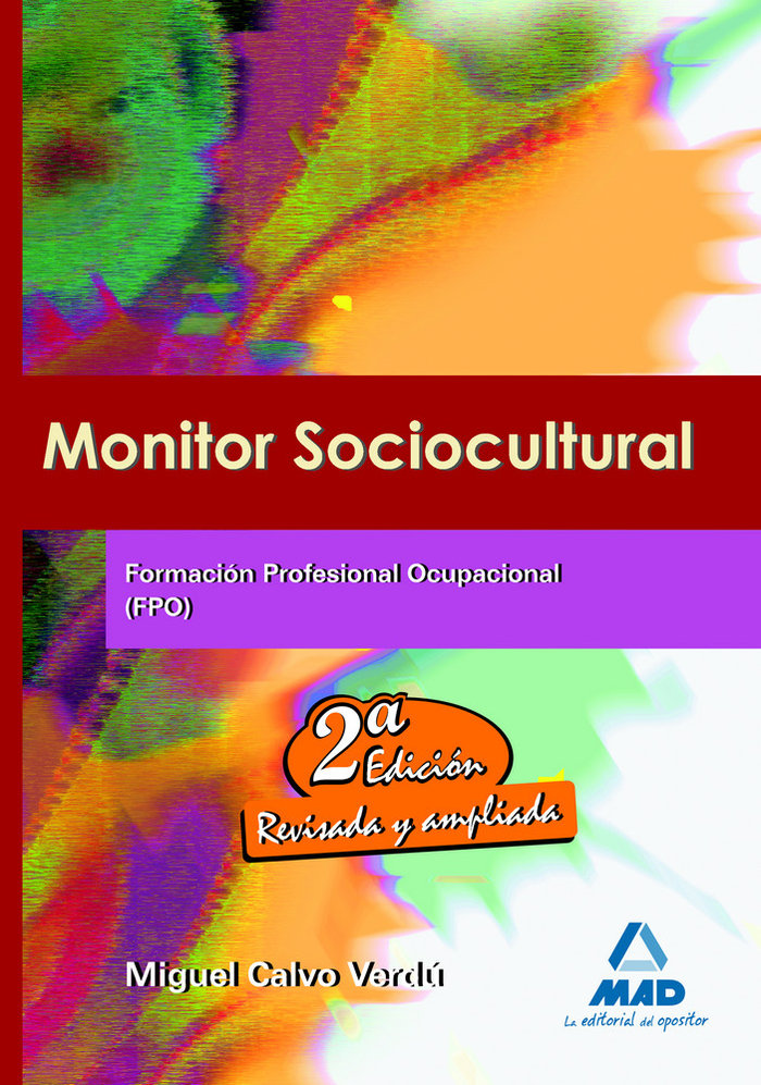 Monitor sociocultural fpo 2ºed