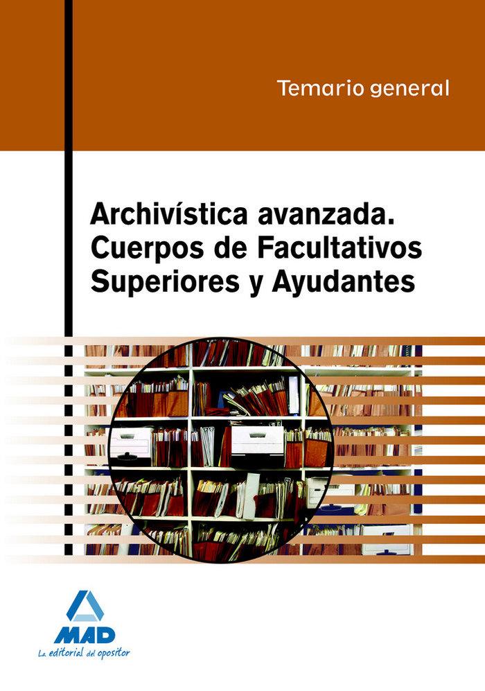 Archivistica avanzada general