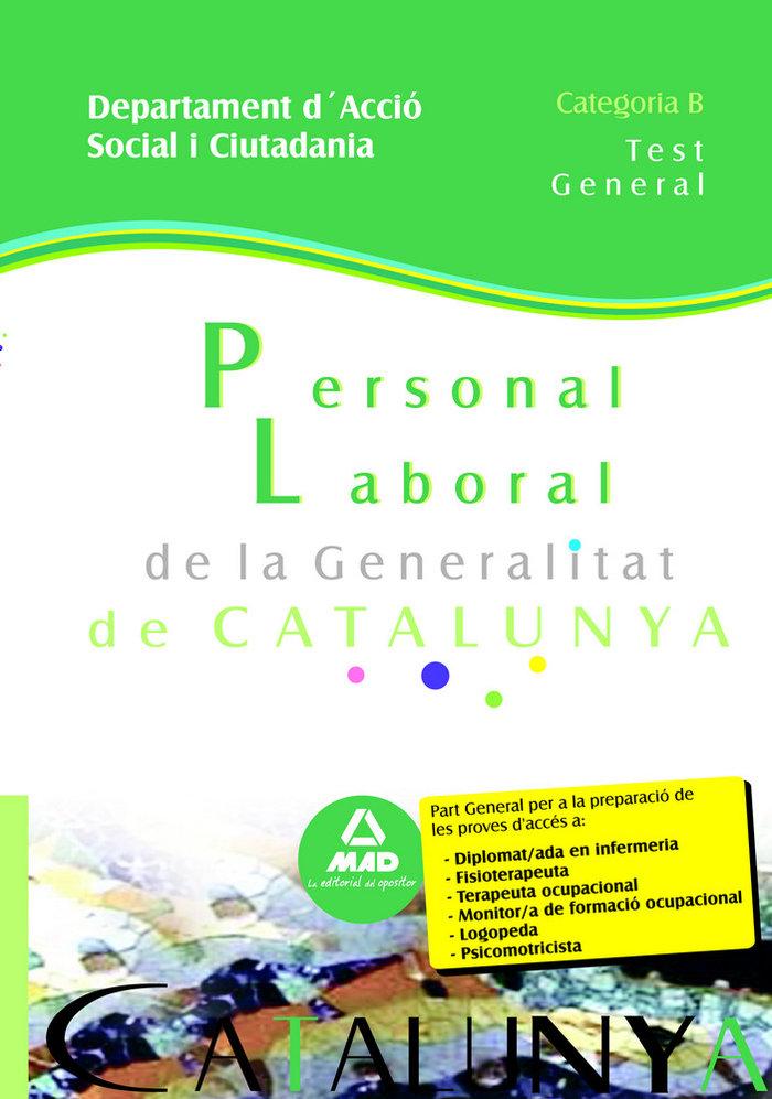 Personal laboral, categoria b, departament d'accio social i