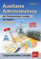 Auxiliares administrativos de corporaciones locales de la co